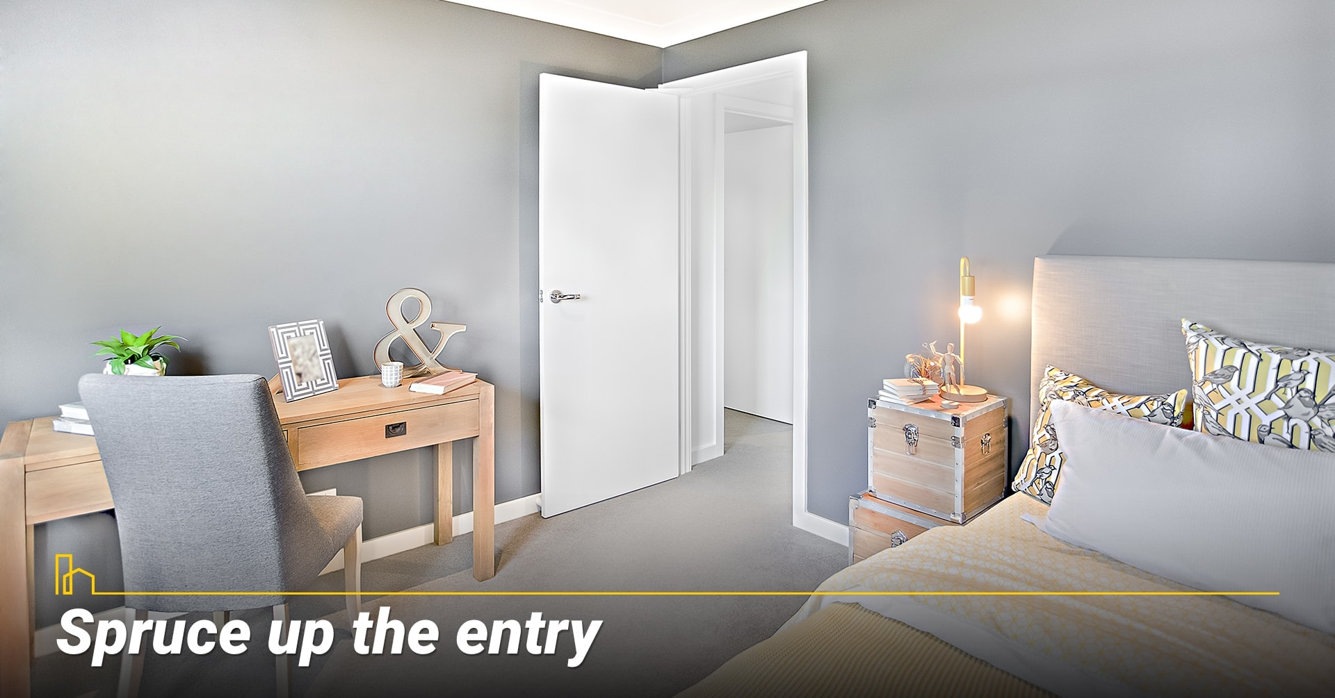 Spruce up the entry, clean up your entry