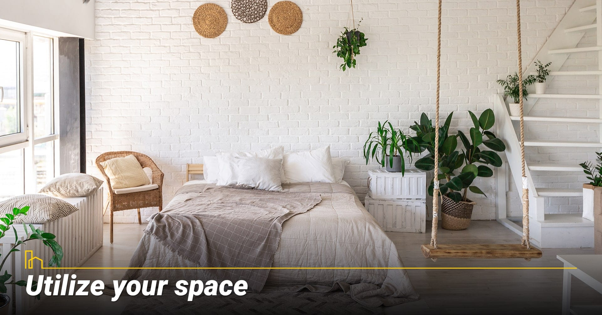Utilize your space, make good use of your space