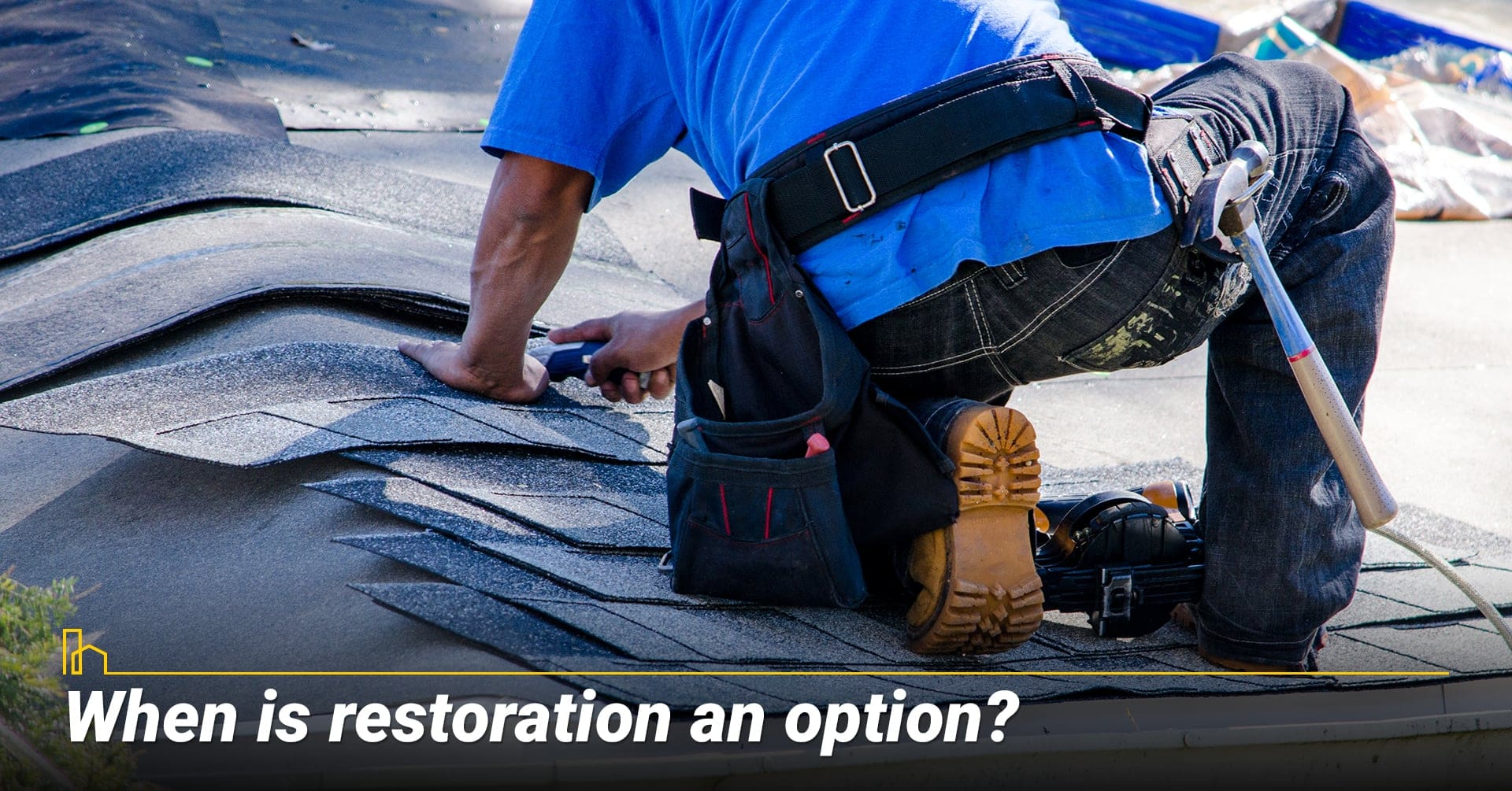 When is restoration an option? factors to consider for roof restoration