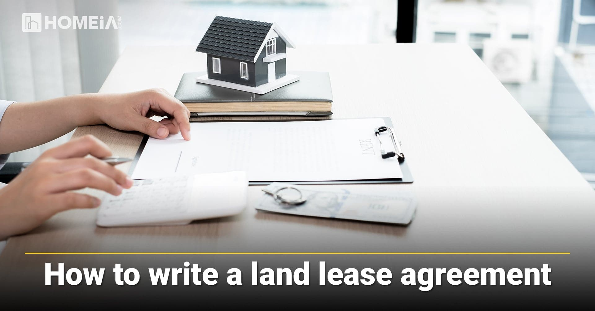 How to write a land lease agreement, what included in the land lease agreement