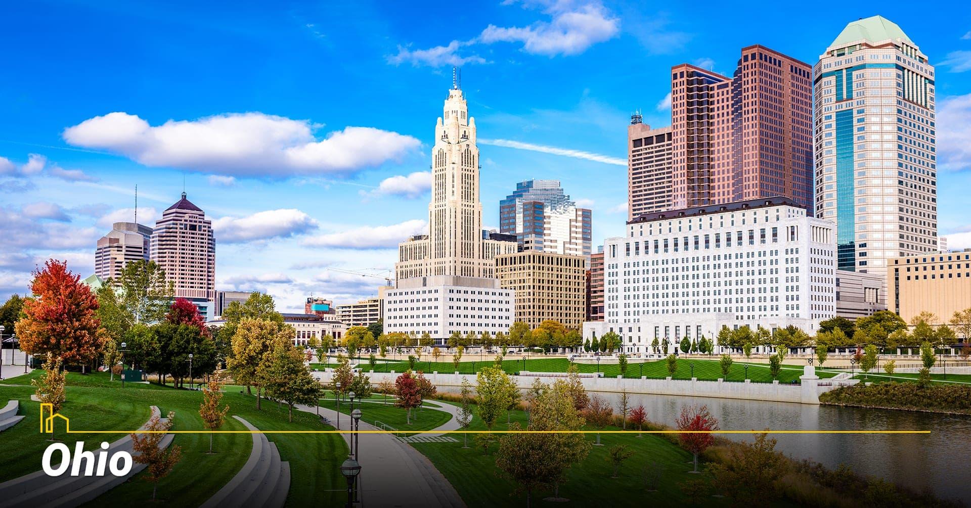 Ohio, living in Ohio