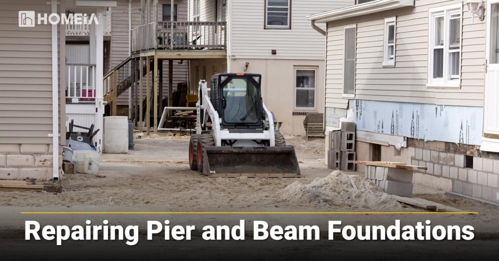 Repairing Pier and Beam Foundations
