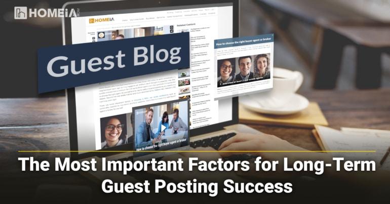 Key Factors for Long-Term Guest Blogging Success