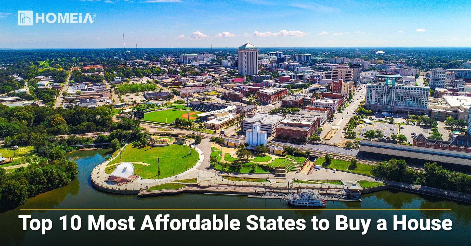 Top 10 Most Affordable States to Buy a House