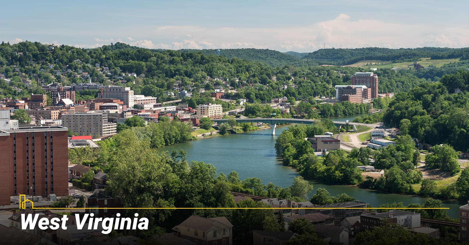 West Virginia, living in West Virginia