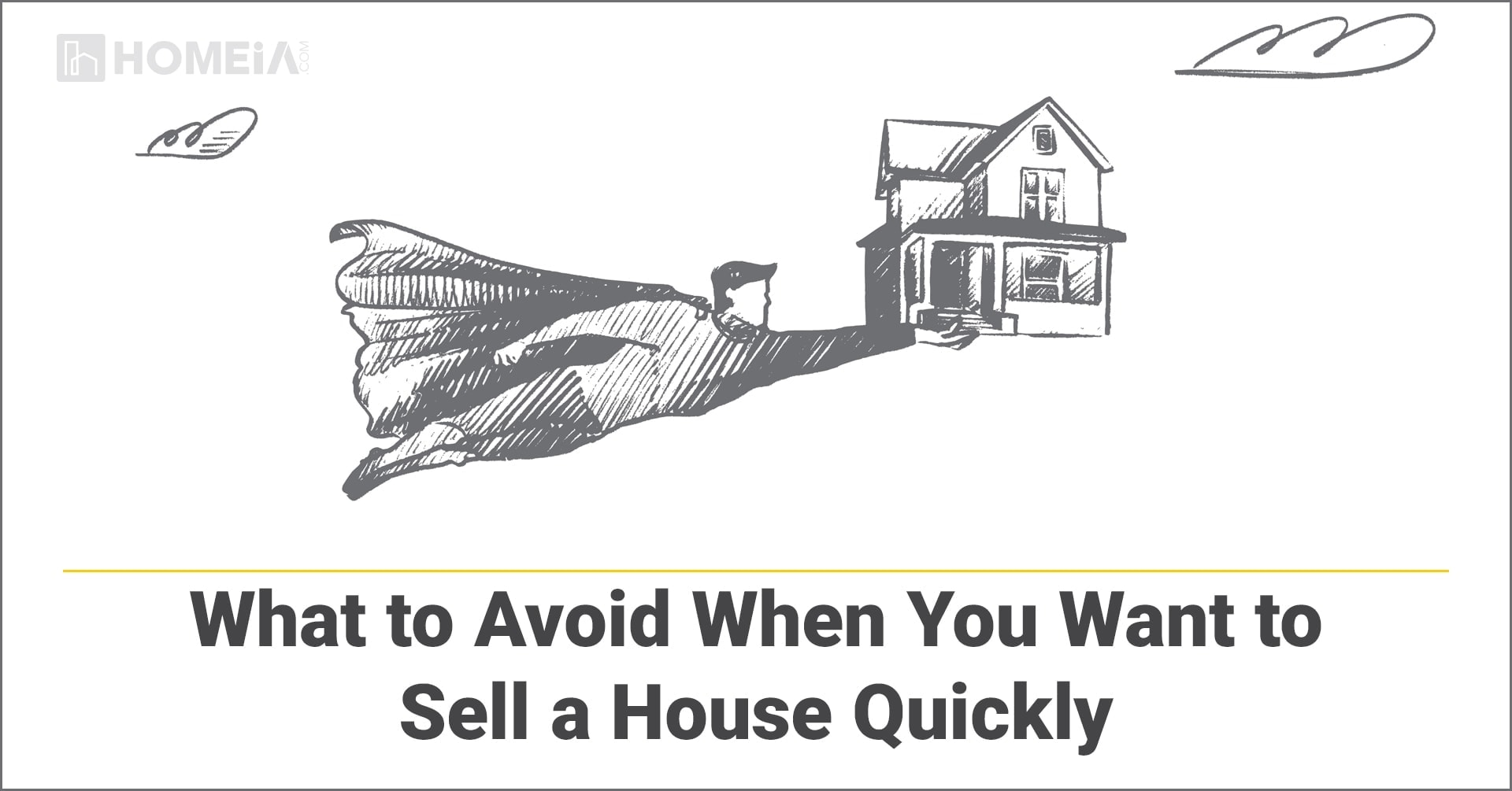 What to Avoid When You Want to Sell a House Quickly