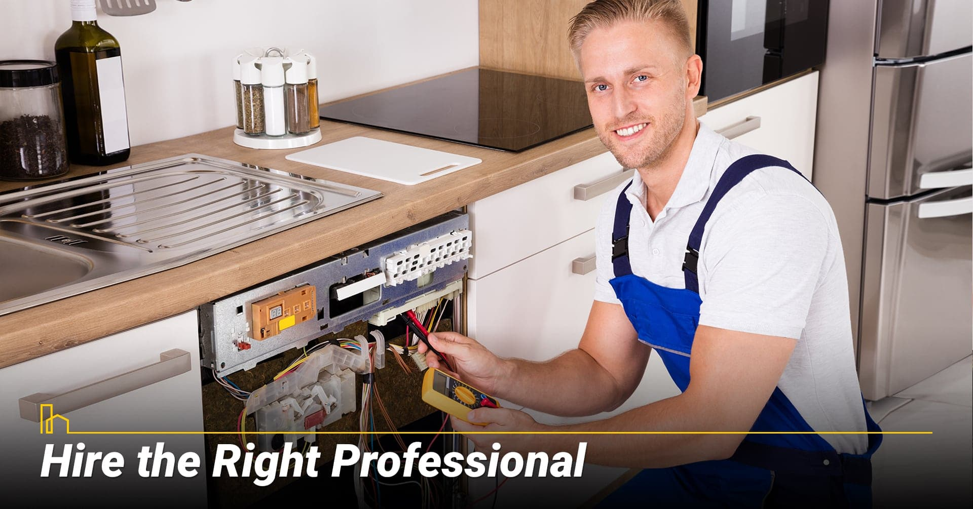 Hire the Right Professional, look for the right electrician