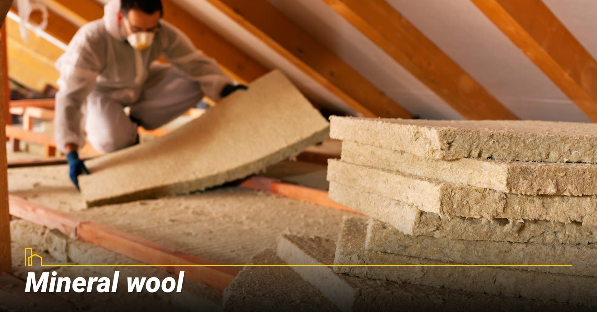 Mineral wool, use mineral wool as insulation