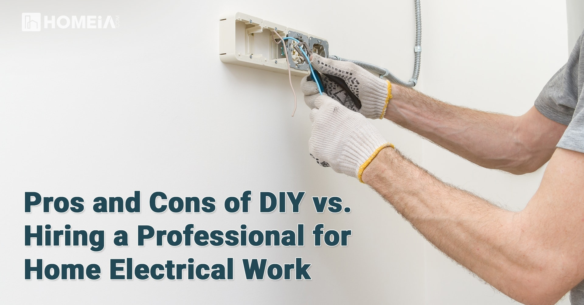 Pros and Cons of DIY vs. Hiring a Professional for Home Electrical Work