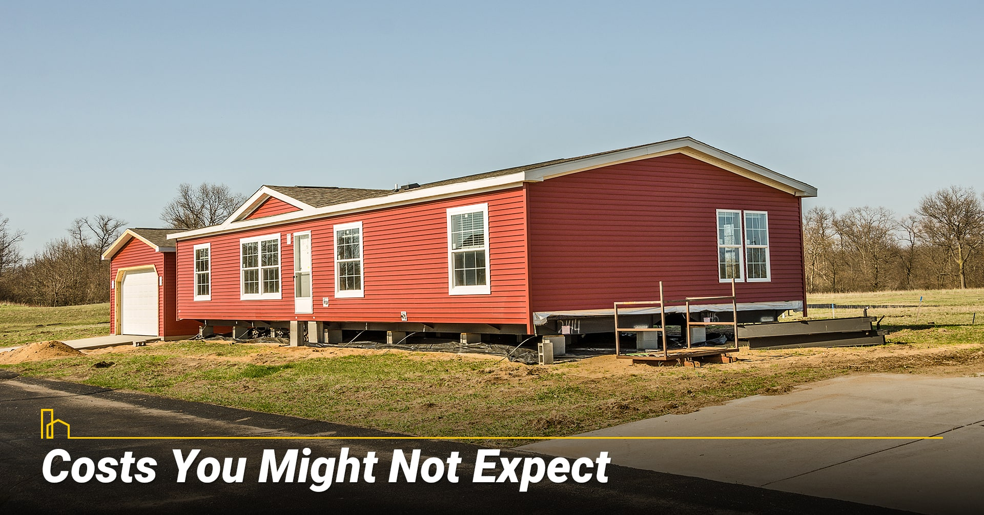 Costs You Might Not Expect, unexpected costs associated with manufactured homes
