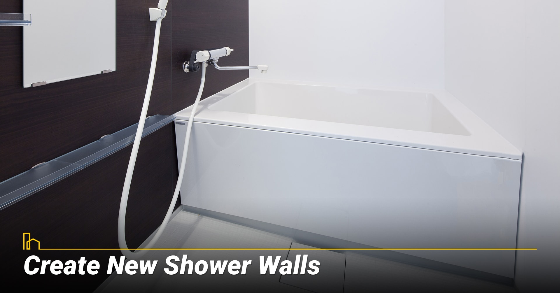 Create New Shower Walls, upgrade your bathroom