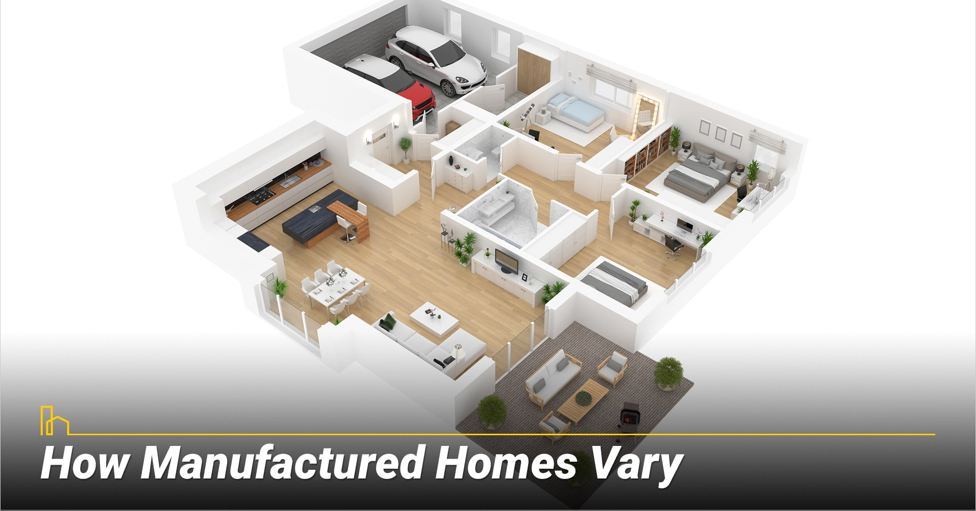 How Manufactured Homes Vary, different types of manufactured homes