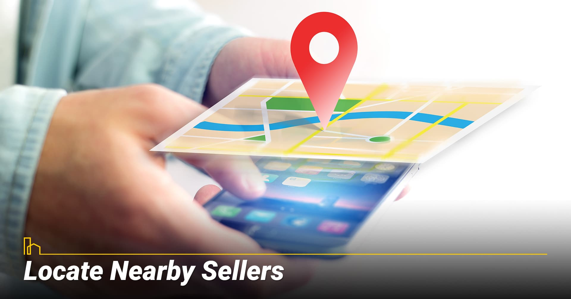 Locate Nearby Sellers, look for sellers