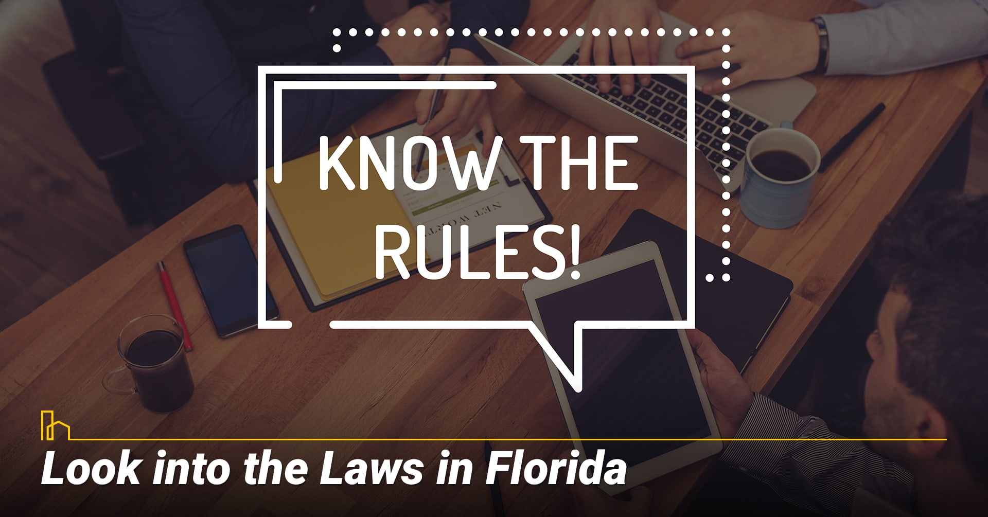 Look into the Laws in Florida, learn about local laws