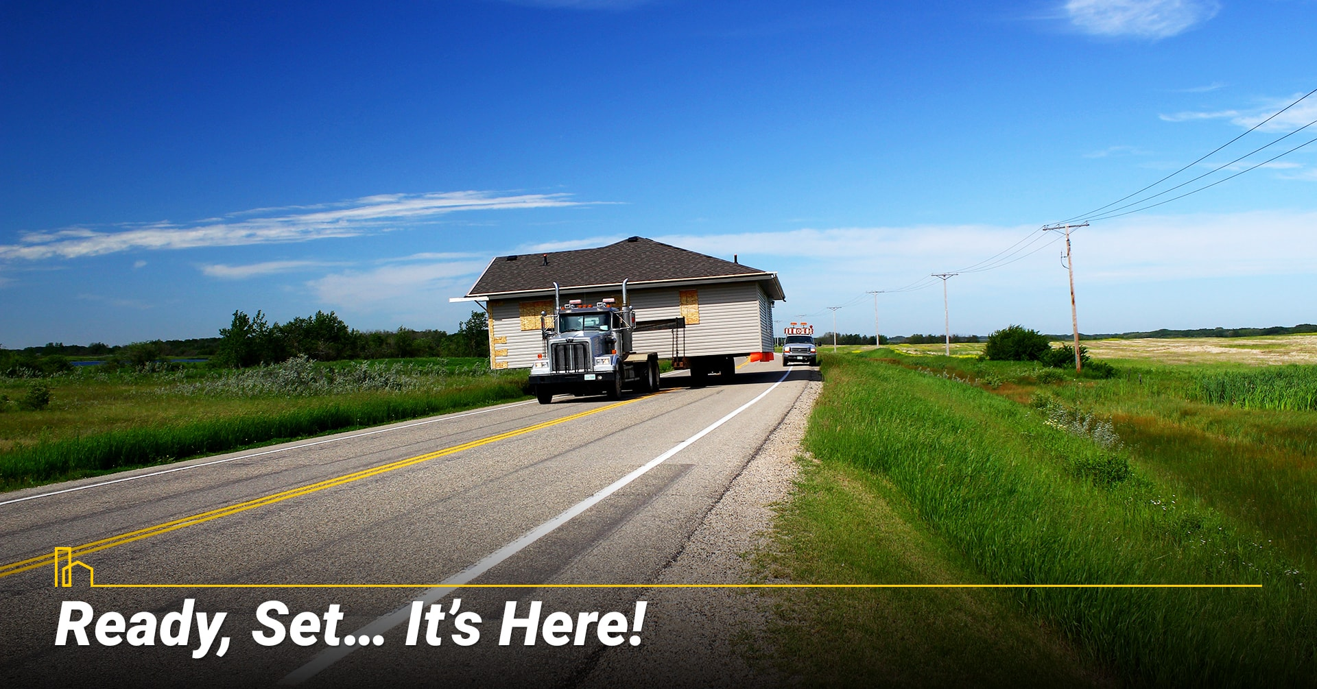 Ready, Set… It's Here! Ready to move in