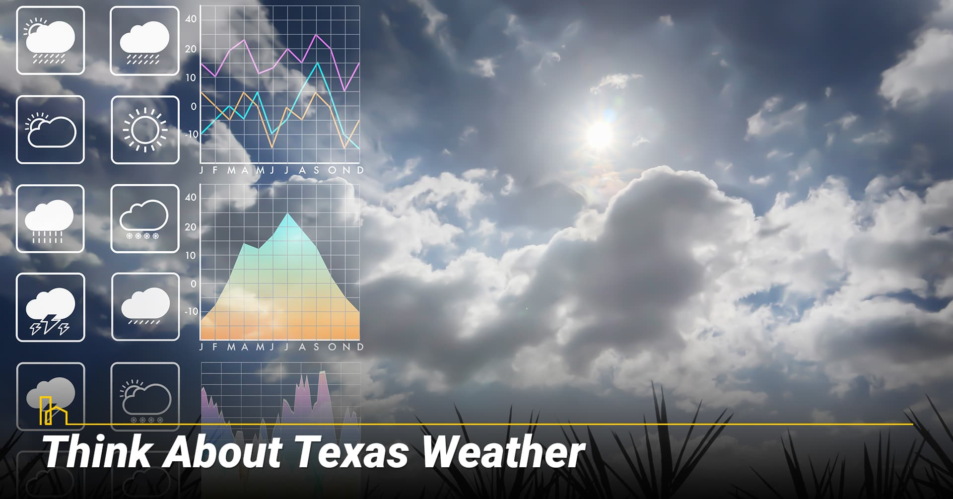 Think About Texas Weather, consider local weather