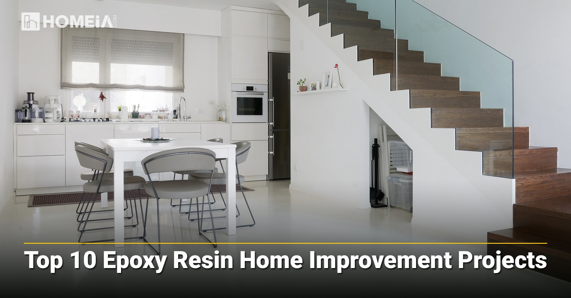 Top 10 Epoxy Resin Home Improvement Projects