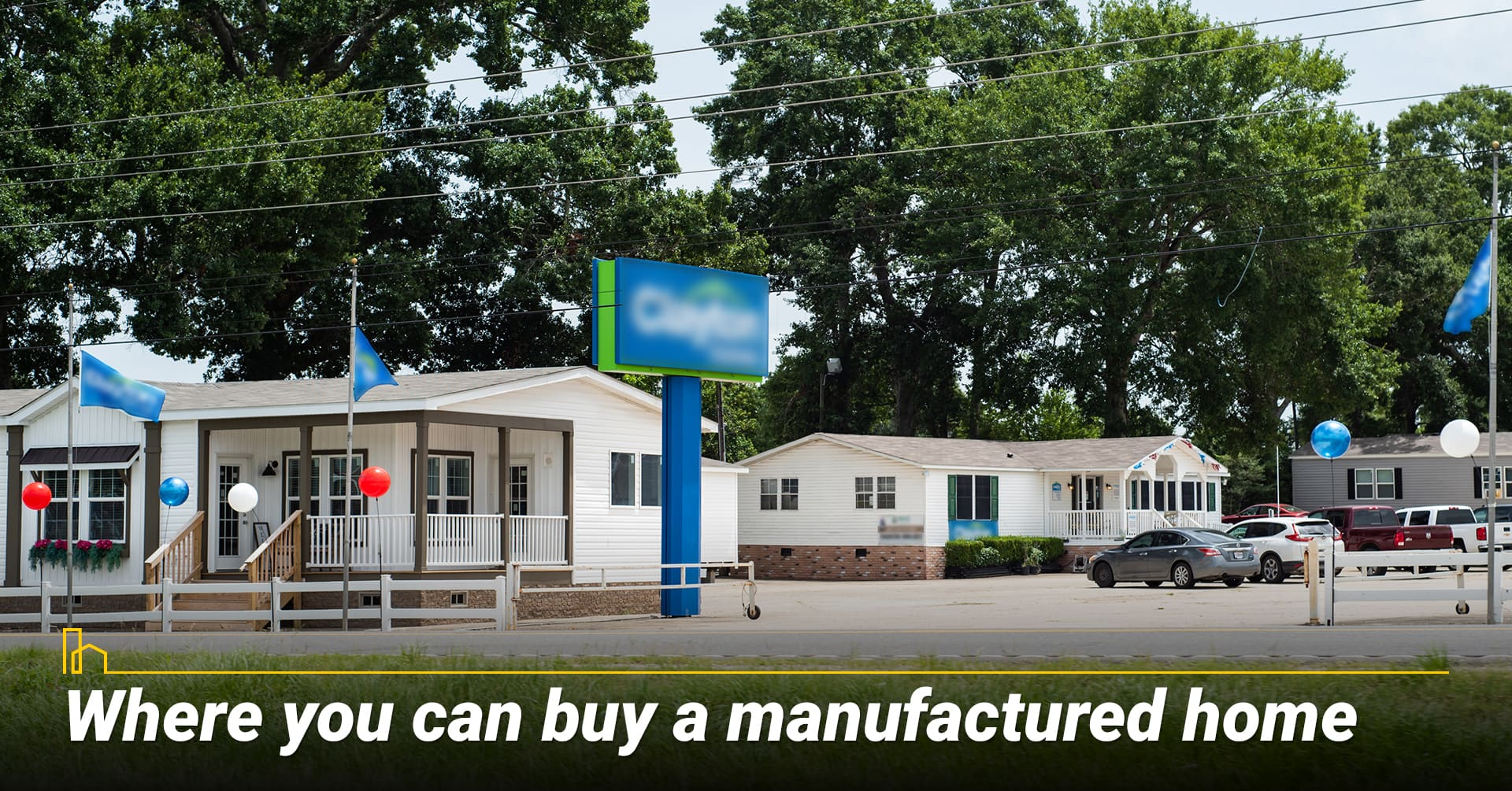 Where you can buy a manufactured home, location for manufactured home