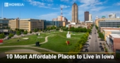 10 Most Affordable Places to Live in Iowa