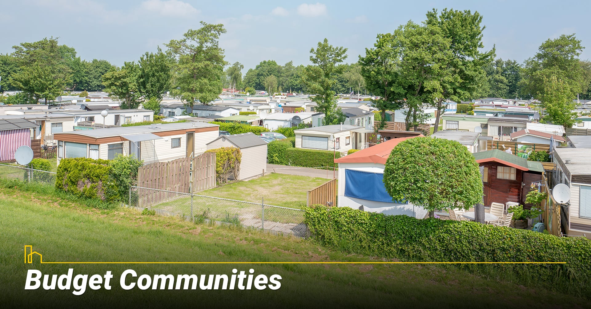 Budget Communities, affordable mobile home communities