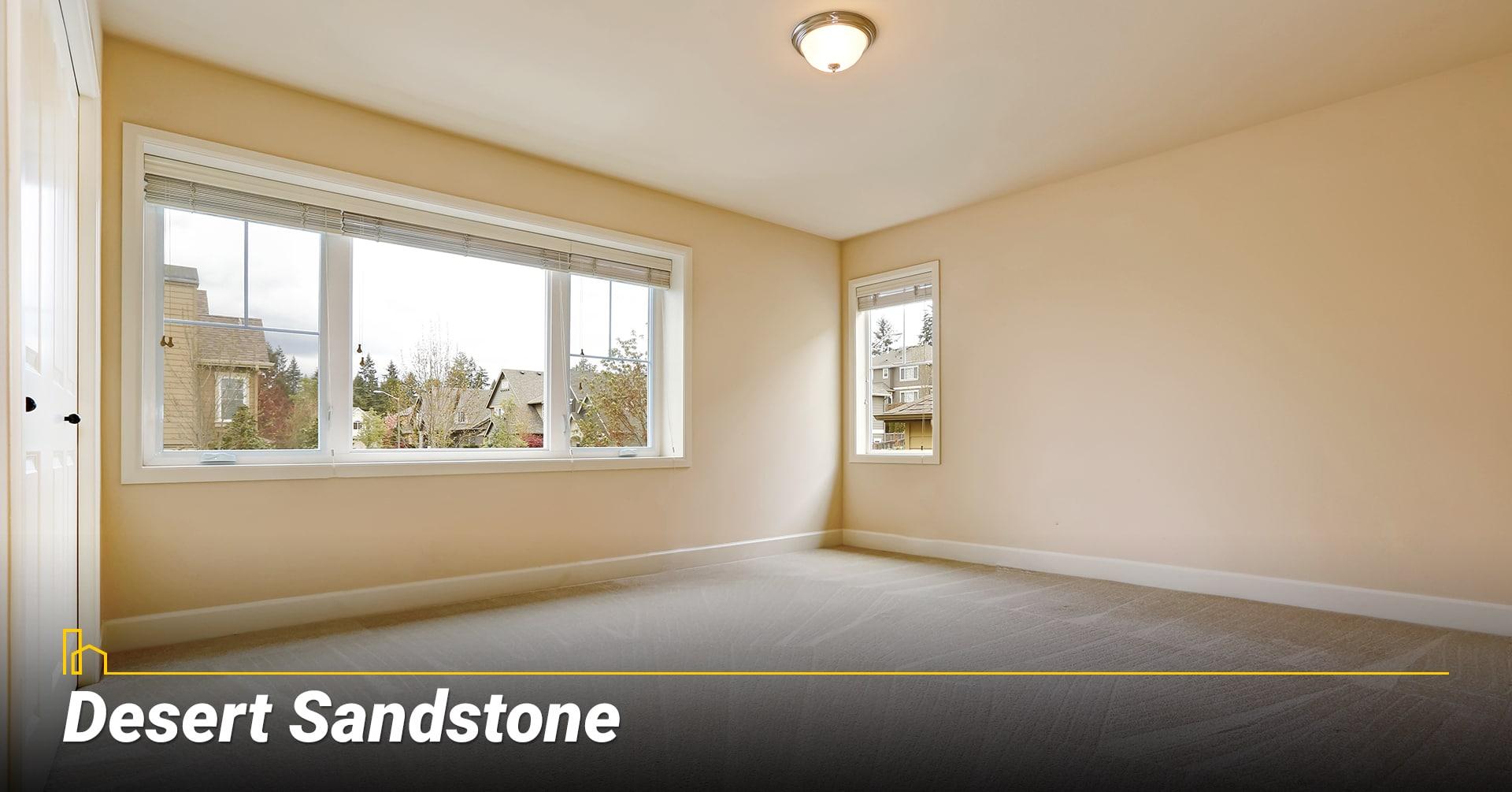 Desert Sandstone, Consider sandy tone color