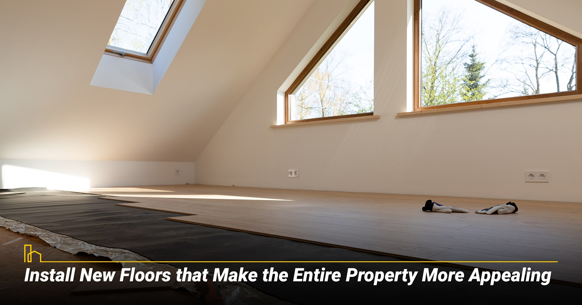 Install New Floors that Make the Entire Property More Appealing, upgrade your floor
