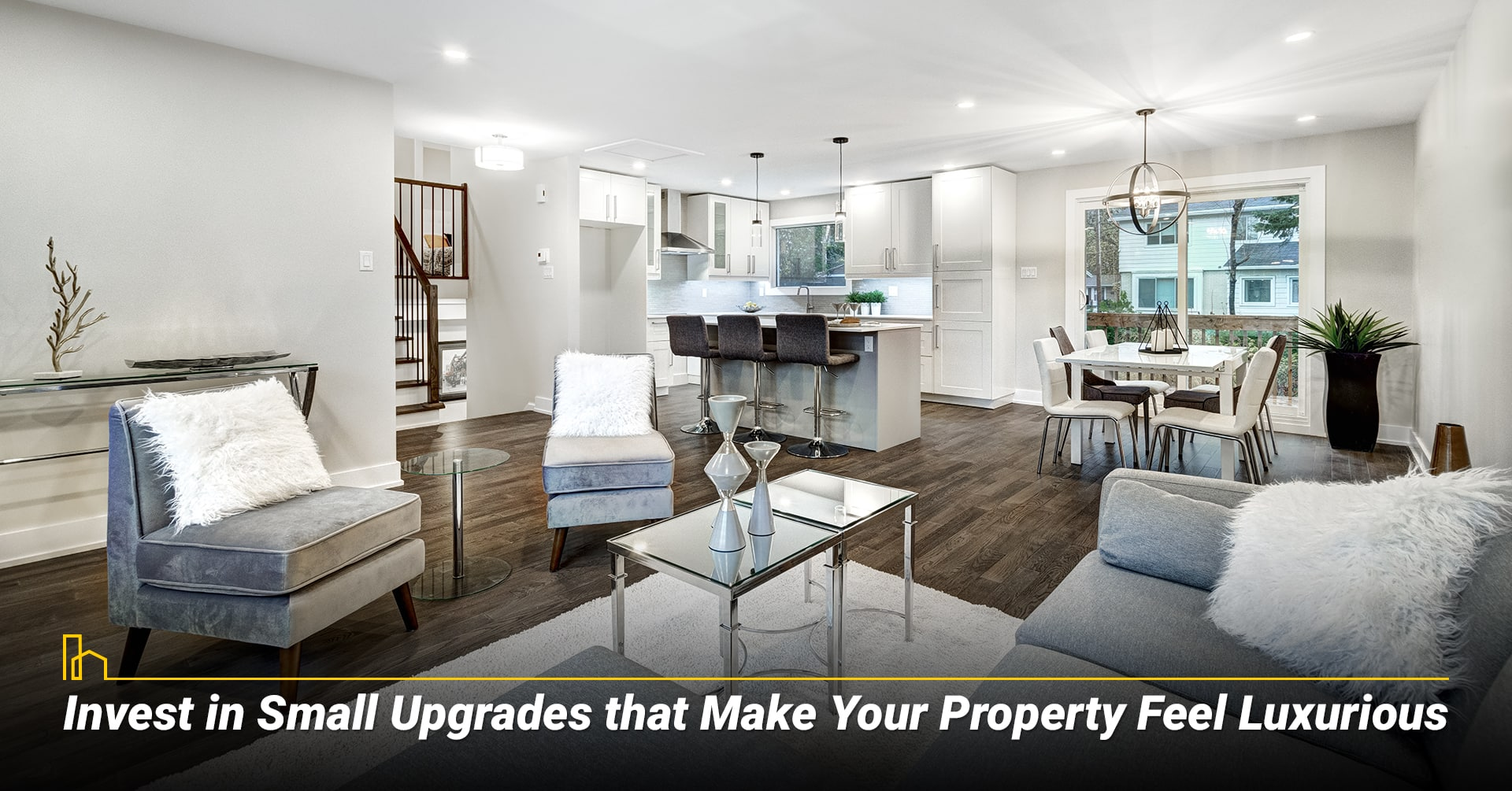 Invest in Small Upgrades that Make Your Property Feel Luxurious, upgrade your property