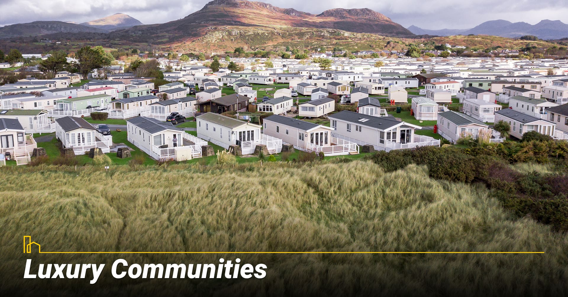 Luxury Communities, high end mobile home communities