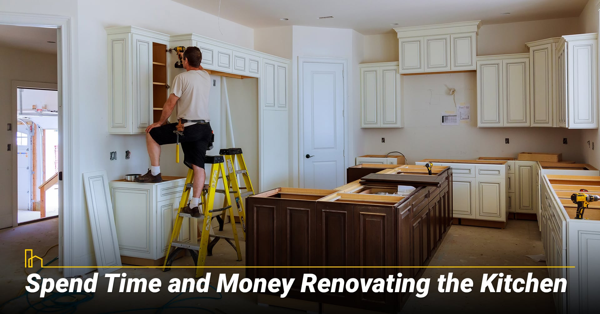 Spend Time and Money Renovating the Kitchen, upgrade your kitchen