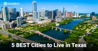 5 Best Places to Live in Texas