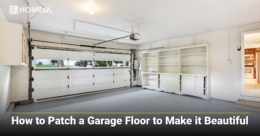 How to Patch a Garage Floor to Make it Beautiful