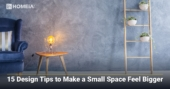 15 Design Tips to Make a Small Space Feel Bigger