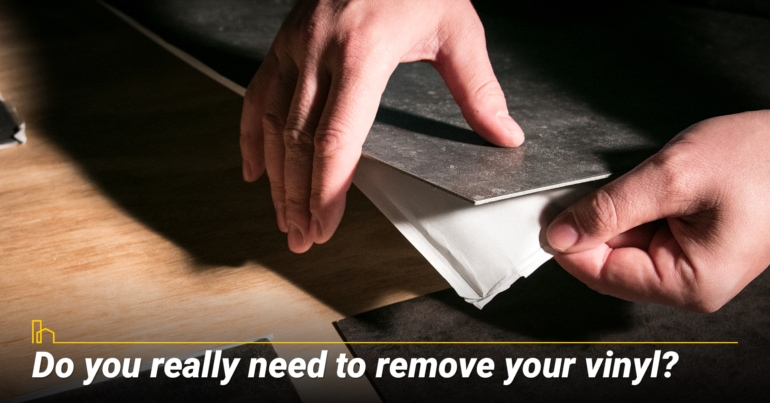 Do you really need to remove your vinyl?