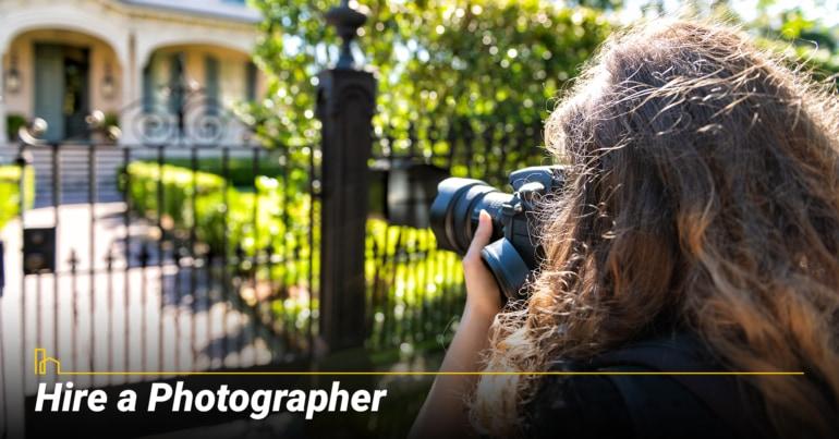 Hire a Photographer