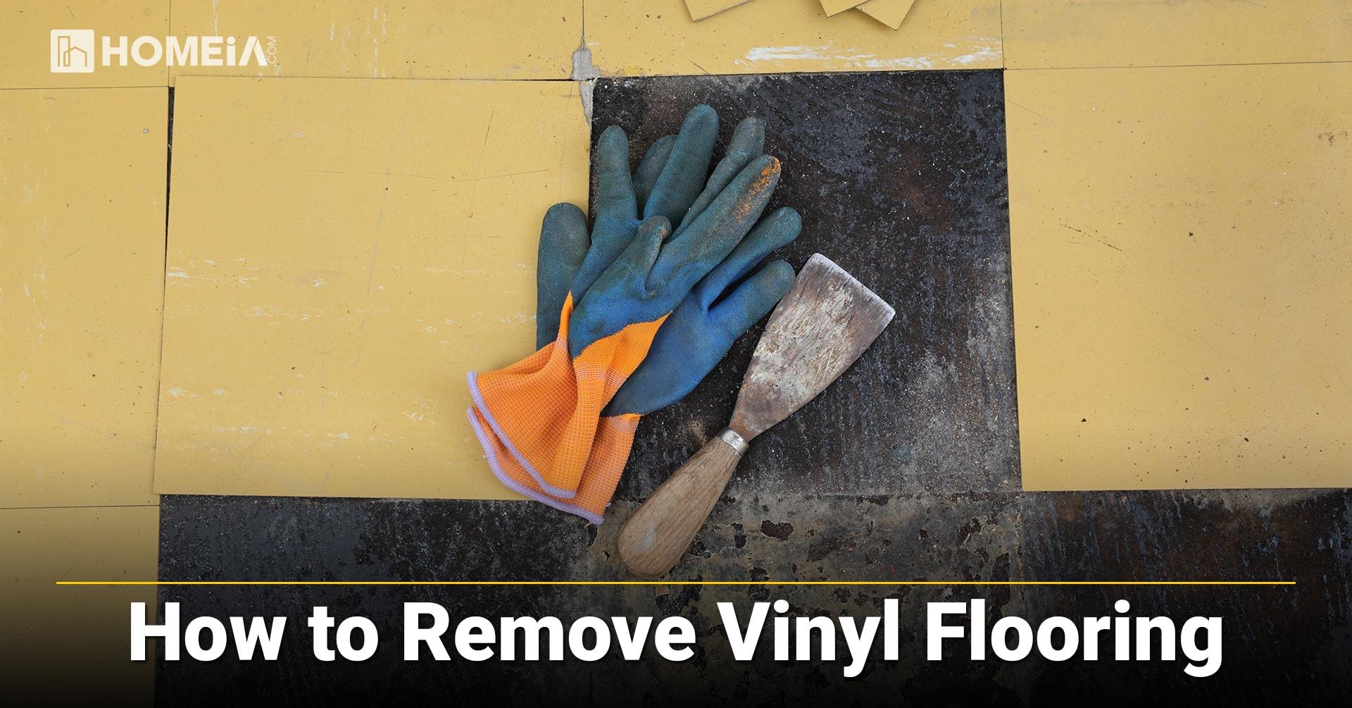 How to Remove Vinyl Flooring