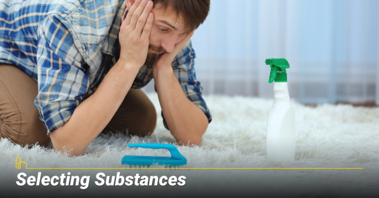 Selecting Substances