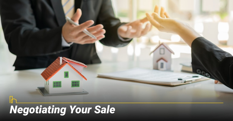 Negotiating Your Sale