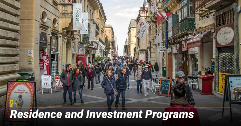 Residence and Investment Programs