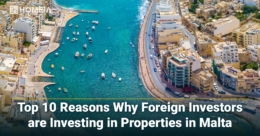 Top 10 Reasons Why Foreign Investors are Investing in Properties in Malta
