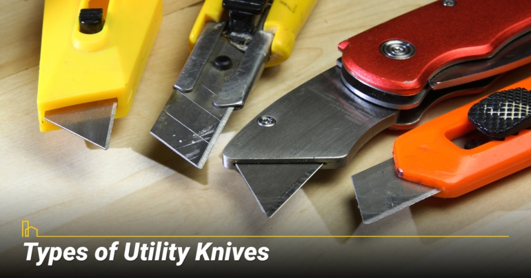 Types of Utility Knives
