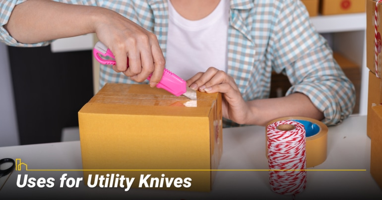 Uses for Utility Knives