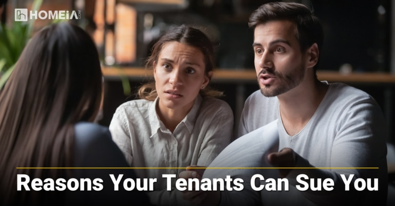 10 Reasons Your Tenants Can Sue You