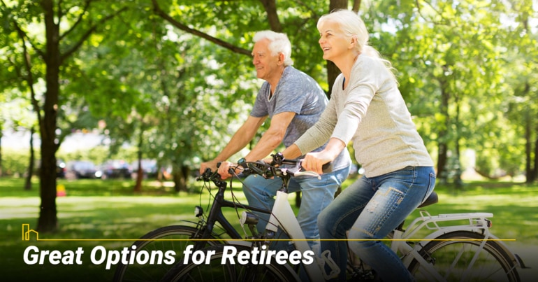 Great Options for Retirees