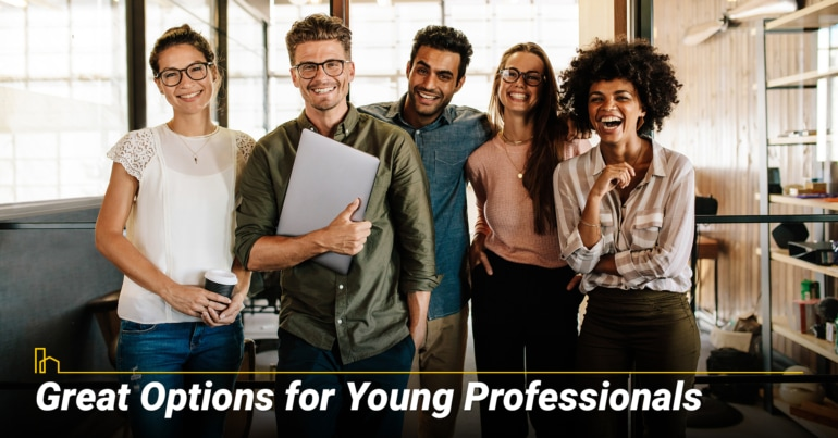 Great Options for Young Professionals