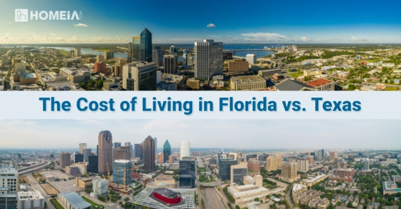 The Cost of Living in Florida vs. Texas