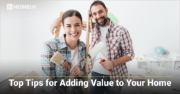 Top 5 Tips for Adding Value to Your Home