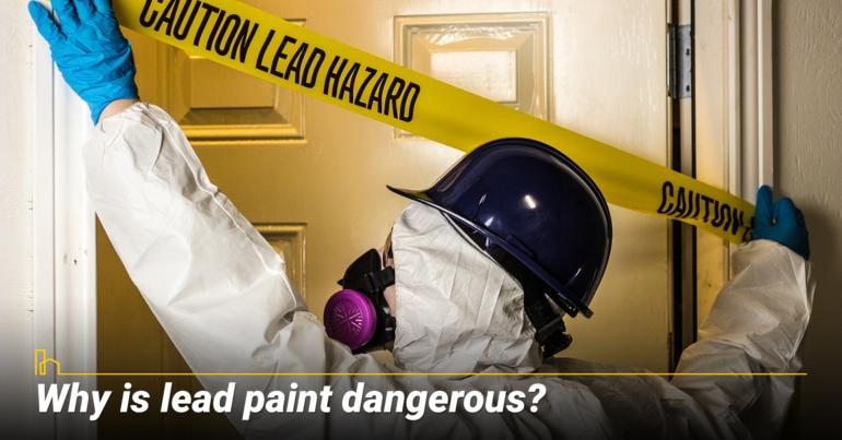 Why is lead paint dangerous?