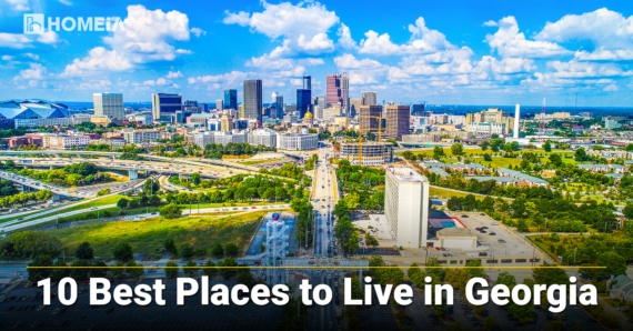 The 10 Best Places to Live in Georgia